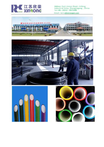 composite-pipe-extrusion-line/pesilicon-pipe-production-line/