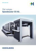 Speedmaster CS 92.