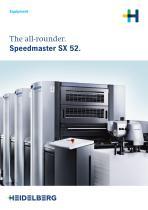 The all-rounder. Speedmaster SX 52.