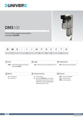 DMS100_Unità di bloccaggio pneumatica standard CNOMO