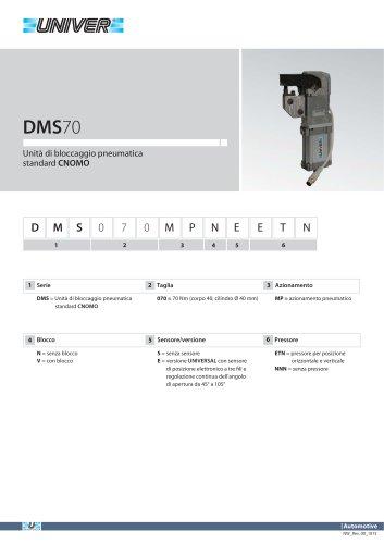 DMS70_Unità di bloccaggio pneumatica standard CNOMO