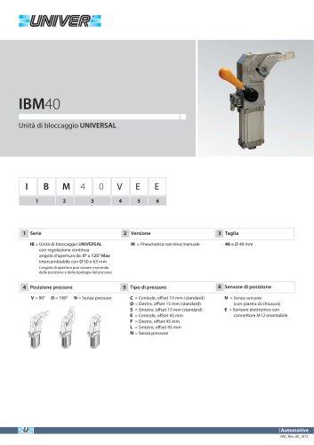 IBM40_Unità di bloccaggio UNIVERSAL