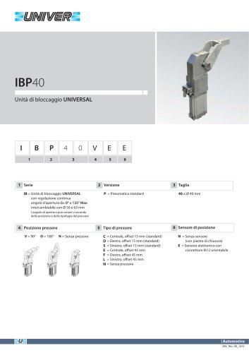 IBP40_Unità di bloccaggio UNIVERSAL