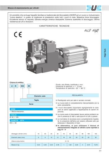 L1/L6_Blocco di stazionamento per cilindri