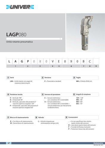 LAGP080_Unità rotante pneumatica