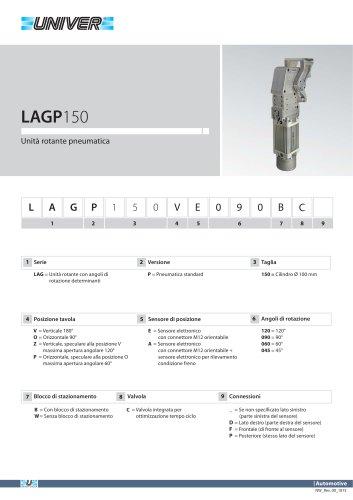 LAGP150_Unità rotante pneumatica