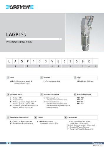 LAGP155_Unità rotante pneumatica