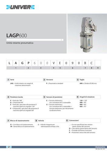 LAGP600_Unità rotante pneumatica