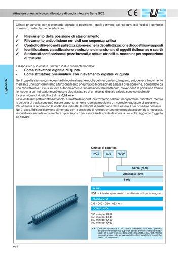 NQZ_Cilindro con rilevatore di posizione integrato
