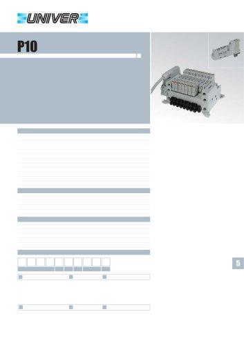 P10/P15_Distributori Compact 10-15 mm - corpo filettato e per base
