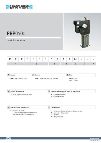 PRP0500_Unità di marcatura