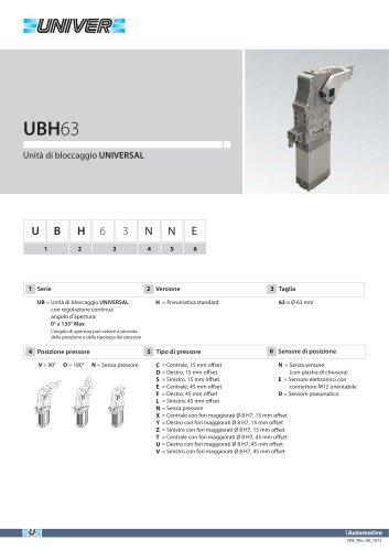UBH63_Unità di bloccaggio UNIVERSAL