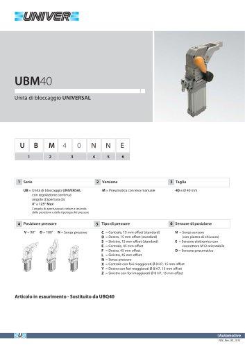 UBM40_Unità di bloccaggio UNIVERSAL