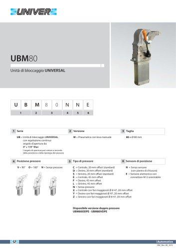 UBM80_Unità di bloccaggio UNIVERSAL