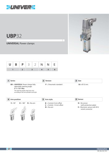 UBP32_Unità di bloccaggio UNIVERSAL