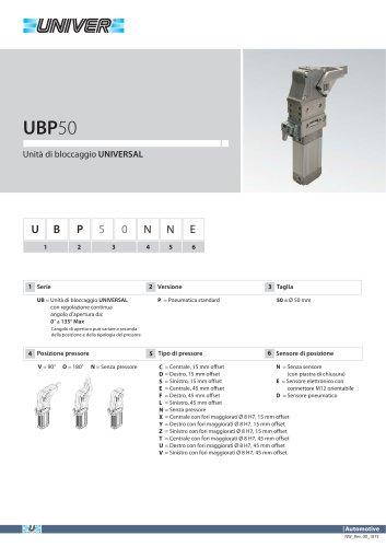 UBP50_Unità di bloccaggio UNIVERSAL