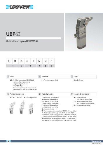 UBP63_Unità di bloccaggio UNIVERSAL