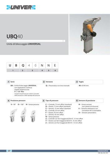 UBQ40_Unità di bloccaggio UNIVERSAL