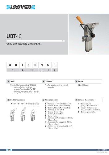 UBT40_Unità di bloccaggio UNIVERSAL