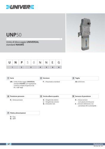 UNP50_Unità di bloccaggio UNIVERSAL standard NAAMS