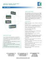 Instrumentation 700 Series Modules
