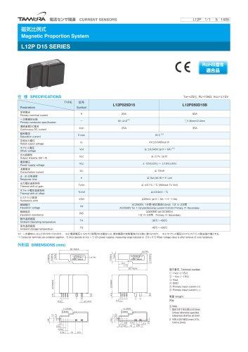 Magnetic Proportion System L12P D15 series_L12PD15