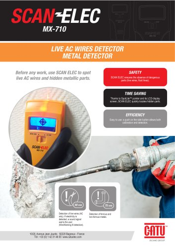 SCAN ELEC Live AC wire detector