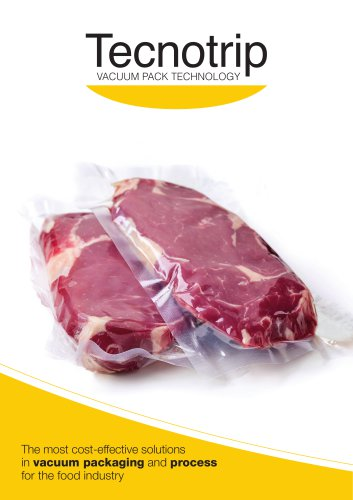 The most cost-effective solutions in vacuum packaging and process for the food industry