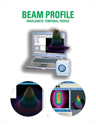Laser Beam Prifile catalog