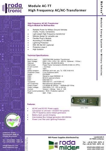 MoFess AC-TT 230V