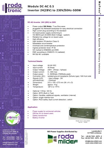 MoFess DC-AC 0.5