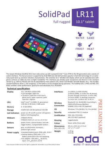 SolidPad LR11