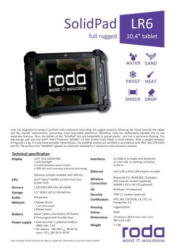 SolidPad LR6