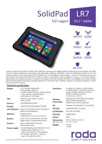 SolidPad LR7