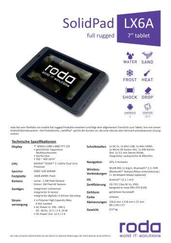 SolidPad LX6A