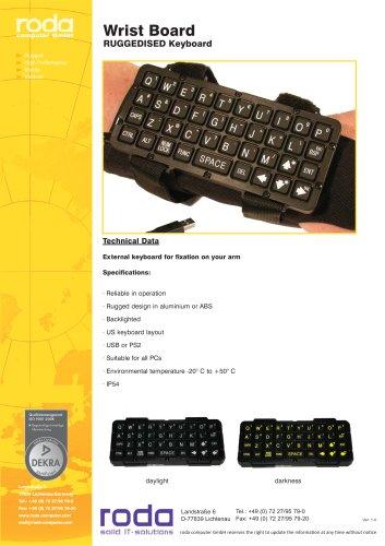 USB keyboard / PS2 / waterproof / heavy-duty