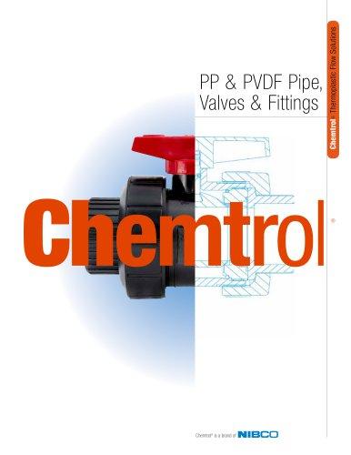 Chemtrol® PP & PVDF Pipe, Valves & Fittings Catalog