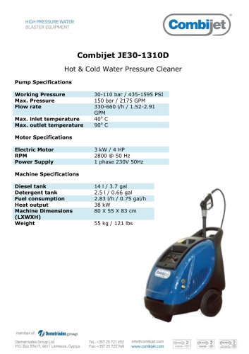 Combijet JE30-1310D