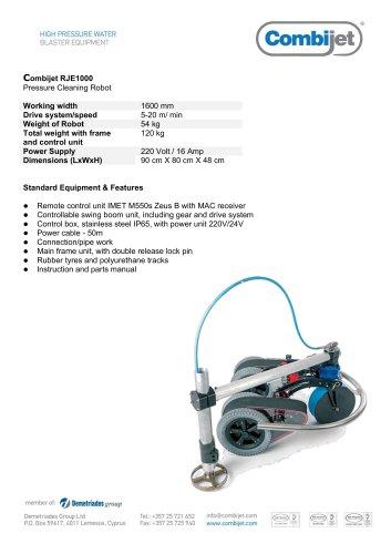 Combijet RJE1000 Pressure Cleaning Robot