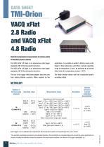 VACQ xFlat 2.8 and 4.8 Radio