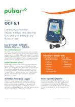 OCF 5.0 Open Channel Flow Monitor