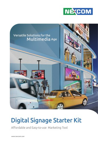 2013 Digital Signage Starter Kit