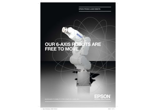 EPSON PROSIX 6-AXIS ROBOTS