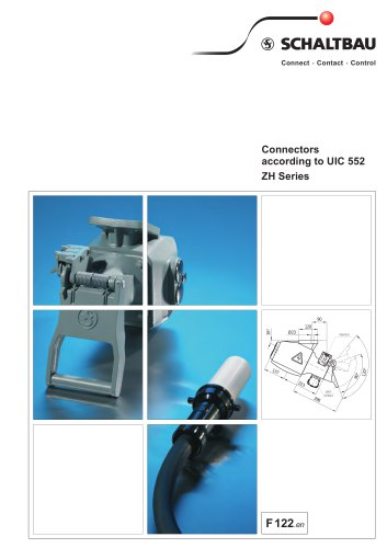 Connectors to UIC 552, ZH series