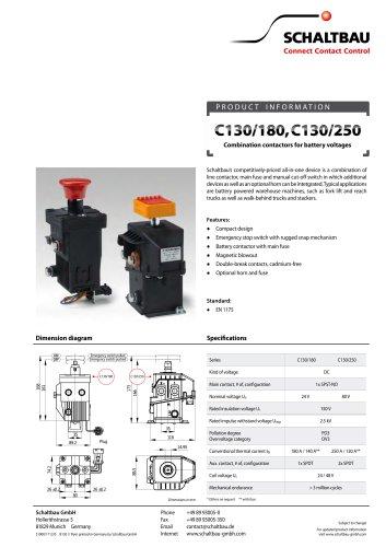 DC-Kombischaltgerät Brochure en