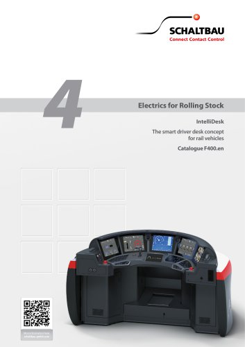 IntelliDesk The smart driver desk concept for rail vehicles Catalogue F400