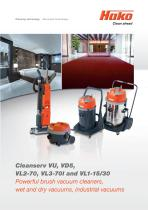Cleanserv/Vacuum cleaners