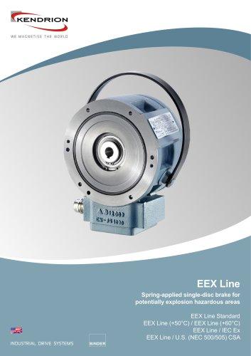 Spring-applied brake - EEX Line