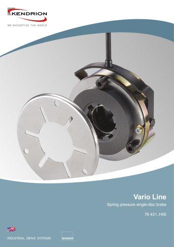 Spring-applied brake - Vario Line