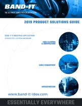 2019 PRODUCT SOLUTIONS GUIDE
